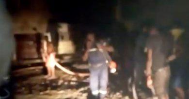 Kédougou : Un court-circuit à l'origine de l'incendie qui a ravagé une famille